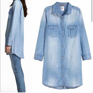 Women's H&M light chambray tunic